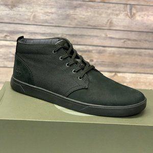 Timberland Men's Bayham Black Leather Chukka Boots